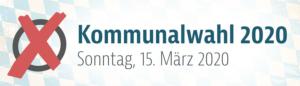 Informationen zur Kommunalwahl am 15.03.2020