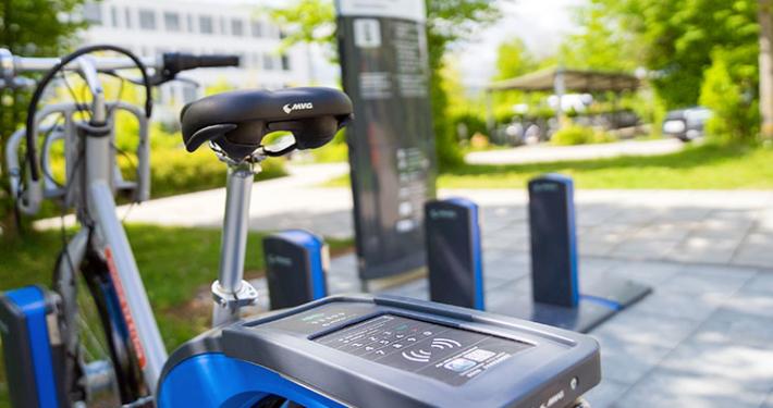 Das MVG-Mietrad in der Gemeinde Kirchheim