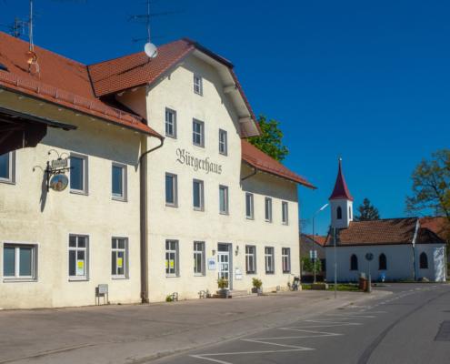 Das Bürgerhaus im Ortsteil Heimstetten