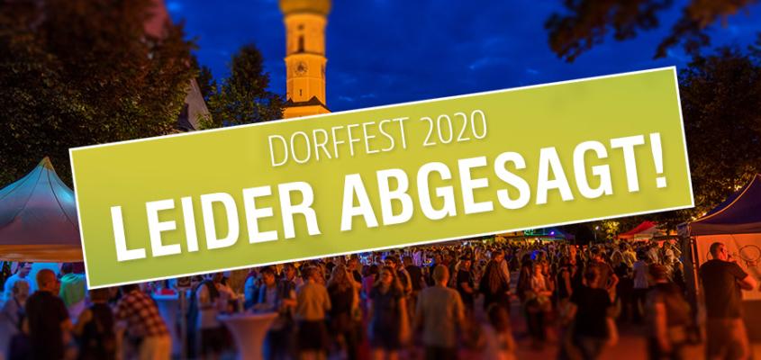 Dorffest 2020 leider abgesagt