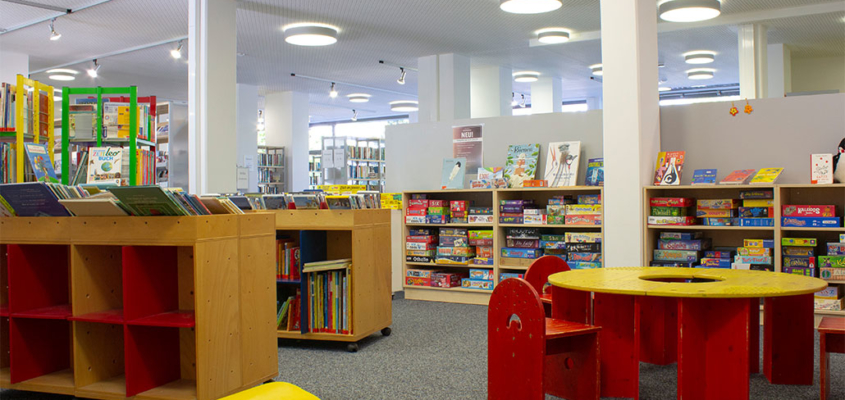 Die Gemeindebücherei Kirchheim