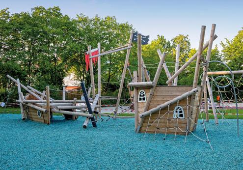 Piratenspielplatz an der Wendelsteinstraße