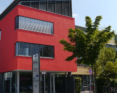 Der Hauptsitz von genua in Kirchheim bei München. Foto: genua.de