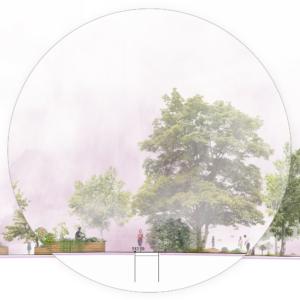 Illustration zur Sphäre Garten - Grafik: SINAI GESELLSCHAFT VON LANDSCHAFTSARCHITEKTEN MBH