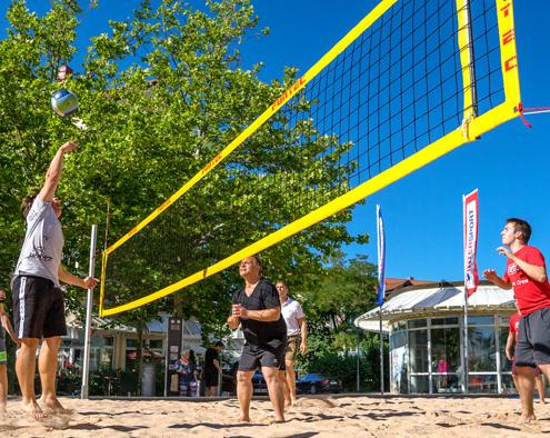 Sport und Kino in Heimstetten. Foto: Claudia Topel