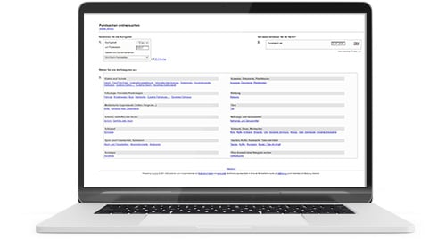 Fundsachen Online-Suche