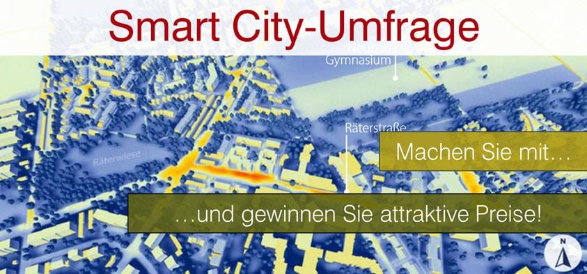 Umfrage zu Smart City