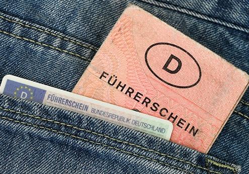 Infos zum Führerschein