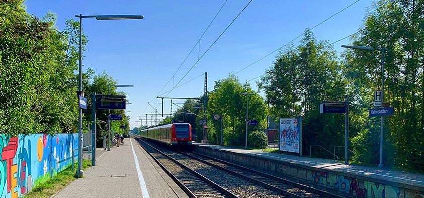 Barrierefreier Ausbau: Die Arbeiten am S-Bahnhof in Heimstetten beginnen 2021.