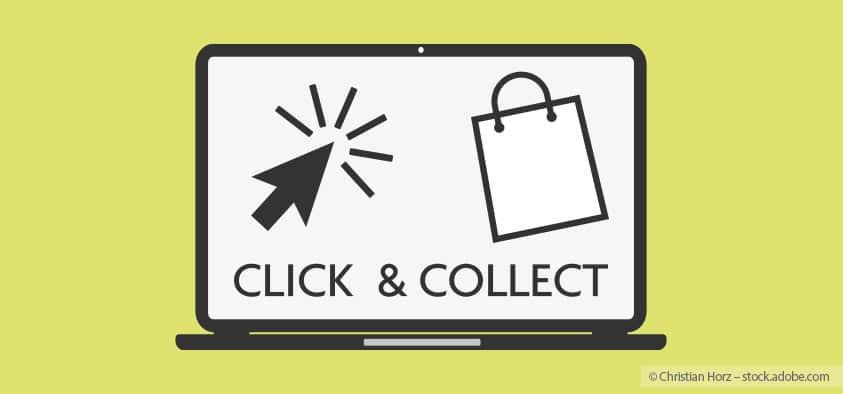 Click & Collect während Corona: Sie können nun telefonisch oder online bei unseren lokalen Händlern wieder Waren bestellen und diese dann dort abholen.