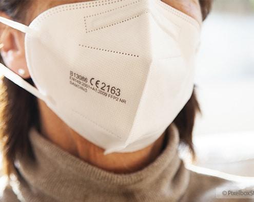 FFP2 Masken sind in Bayern ab 18. Januar Pflicht im ÖPNV und im Einzelhandel.