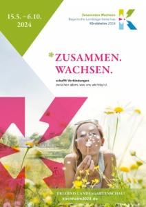 Foto: Plakat für die Landesgartenschau 2024