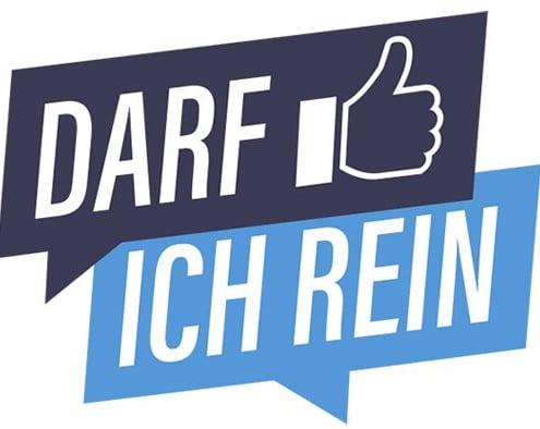 Foto: Logo der App Darfichrein