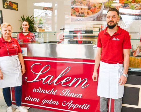 Foto: Salem Pizza-Pasta Lokal in Kirchheim.