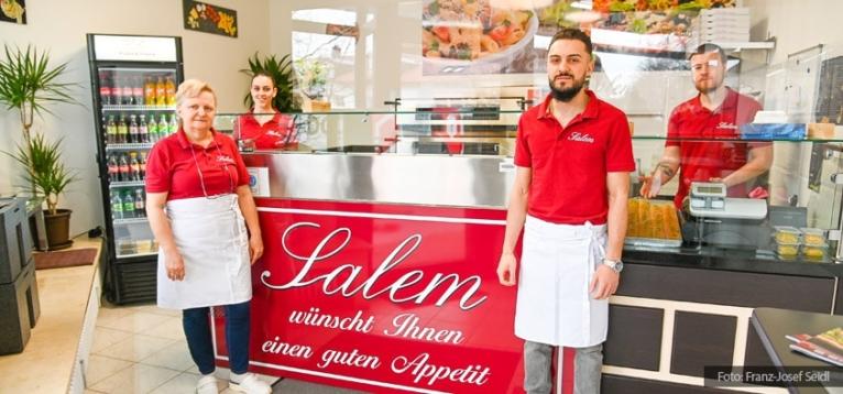 Foto: Salem Pizza-Pasta Lokal in Kirchheim.