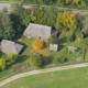 Foto: Luftbild vom Bajuwarenhof Kirchheim