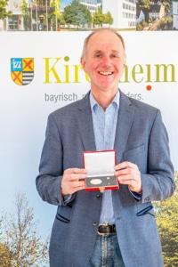 Geehrtes ehemaliges Mitglied im Gemeinderat: Josef Dirl
