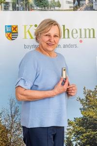 Geehrtes ehemaliges Mitglied im Gemeinderat: Lieselotte Gnasmüller