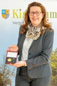 Geehrtes ehemaliges Mitglied im Gemeinderat: Susanne Merten-Wente.