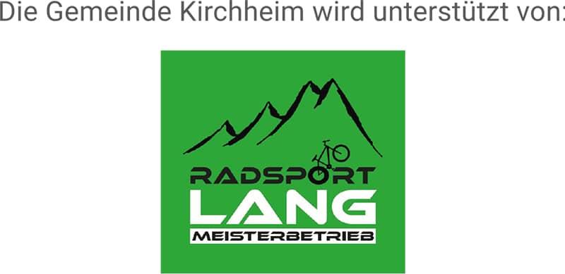 Foto: Logo von Radsport Lang